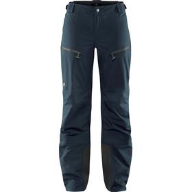 Fjällräven Bergtagen Pantalones Eco-Shell Mujer, mountain blue
